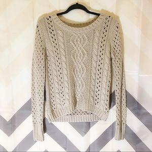 Halogen scoop neck sweater
